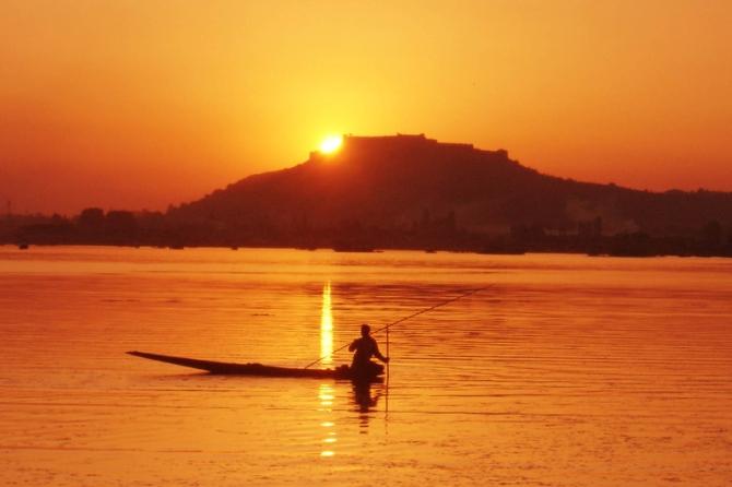 Srinagar- Sunset Dal Lake