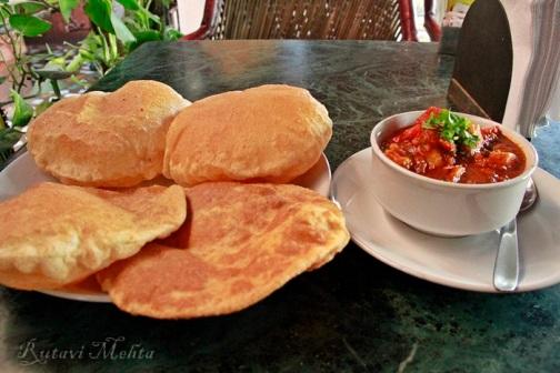 Jaipur Hotel Pearl Palace Breakfast