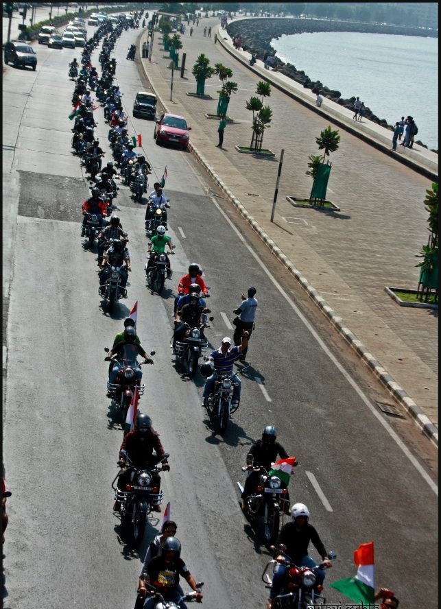 Royal Enfield Independence Ride, 2013