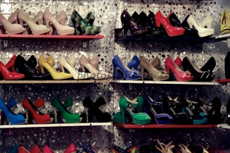 stilettos from across countires like china, thailand..europe.