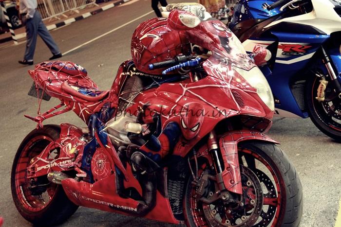 Bikes, Doha Trade Fair, Qatar, Bikes, Honda