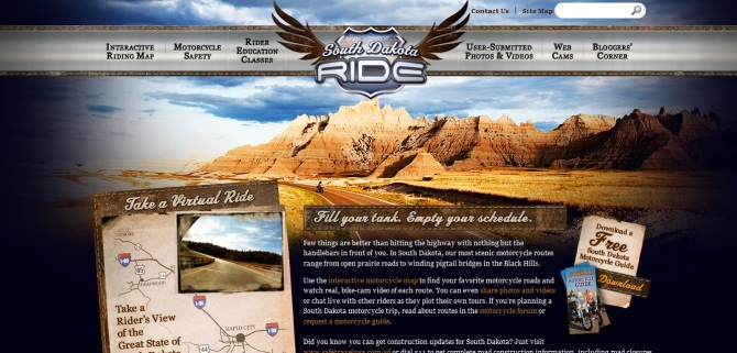 South Dakota, USA, Riding, Harley, Virutal Tour to ride, Harley Davidson, Road King, Motorcycle, Biking, Drag Race,