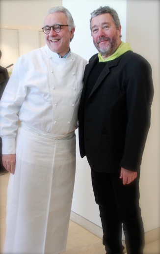 Alain Ducasse and Philippe Starck
