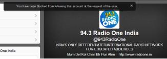 Social Twitter, Social Media, Radio 94.3