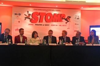 Press Conference, Stomp, Qatar Doha, Photography, travel, UK,