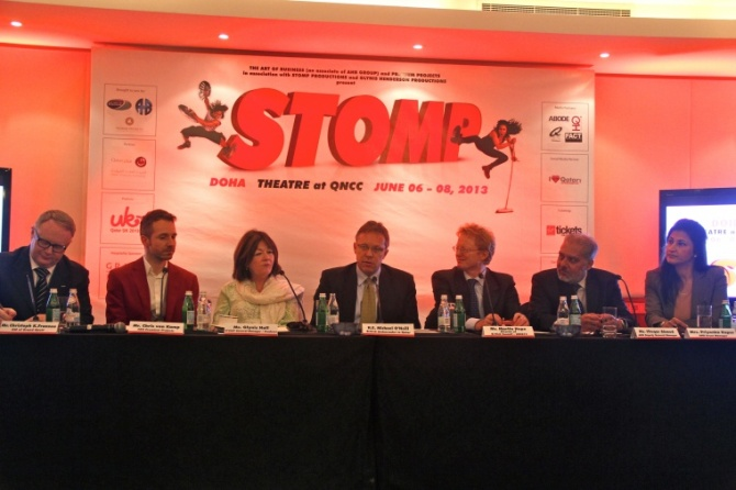 Press Conference, Stomp, Qatar Doha, Photography, travel, UK,